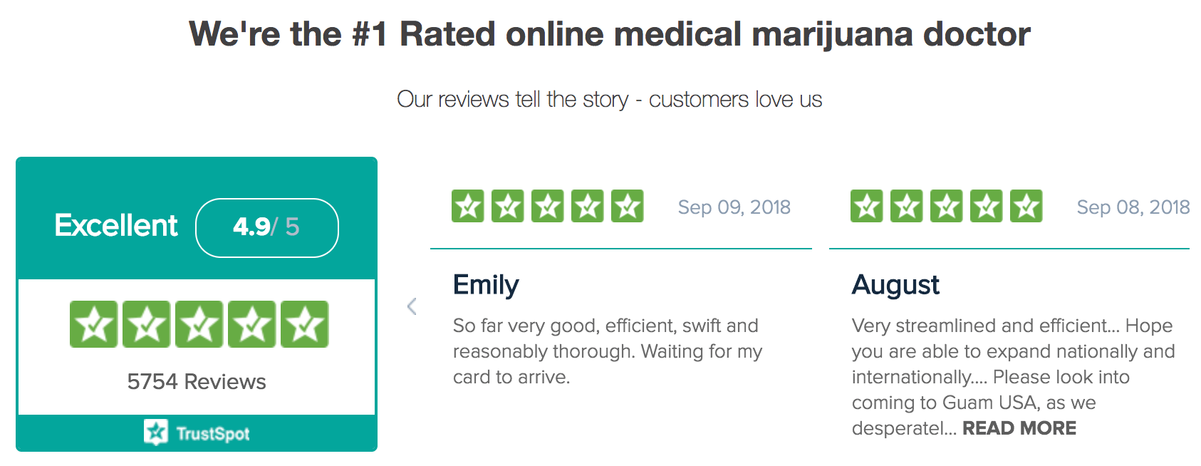 Medical Marijuana Card #1 Rated Online Service
